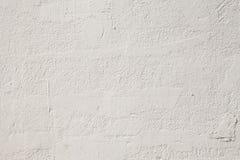 Textura branca do muro de cimento Imagens de Stock