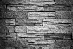 Textura branca preta do bloco do tijolo imagens de stock