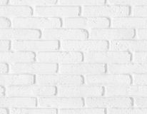 Textura branca sem emenda da parede de tijolo Fotografia de Stock Royalty Free