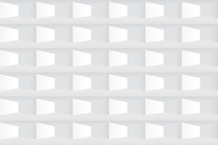 textura branca Teste padrão geométrico da telha sem emenda Imagens de Stock