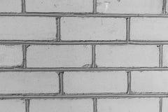 Textura branca velha da parede de tijolo Imagem de Stock