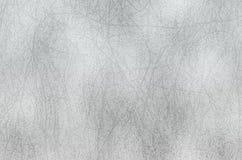 Textura brilhante da folha de prata, fundo decorativo metálico cinzento Fotografia de Stock
