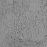 A textura brilhante de Grey Grunge Plastered Wall Stucco, vertical detalhou o risco natural Gray Coarse Rustic Textured Backgroun fotografia de stock