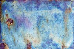 Textura brillante abstracta con divorcios del color azul, violeta, divino y de la arena imagen de archivo