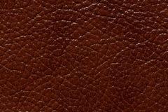 Textura brillante del cuero del marrón del contraste Foto de alta resolución imagen de archivo libre de regalías