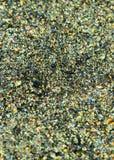 Textura brillante multicolora, lentejuelas con el fondo de la falta de definición Fotos de archivo