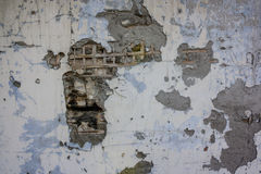 Textura caída da parede do emplastro imagens de stock