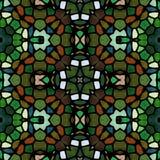 Textura caleidoscópica abstracta del fondo Fotografía de archivo