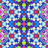 Textura caleidoscópica abstracta del fondo Fotos de archivo