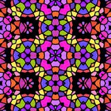 Textura caleidoscópica abstracta del fondo Fotografía de archivo libre de regalías