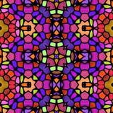 Textura caleidoscópica abstracta del fondo Imágenes de archivo libres de regalías