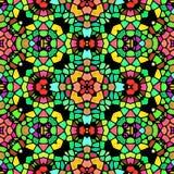 Textura caleidoscópica abstracta del fondo Imagen de archivo libre de regalías