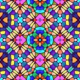 Textura caleidoscópica abstracta del fondo Foto de archivo libre de regalías