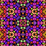 Textura calidoscópico abstrata do fundo Imagens de Stock Royalty Free