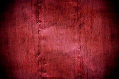 Textura carmesim pintada metal da parede Fotografia de Stock Royalty Free