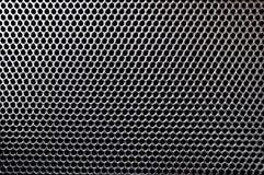 Textura celulada metálica fotografía de archivo