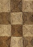 Textura Checkered de la estera Imagenes de archivo