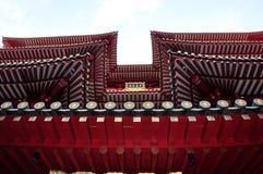 Textura china del templo de Buddha Fotografía de archivo libre de regalías