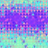 Textura cintilante dos triângulos Foto de Stock Royalty Free