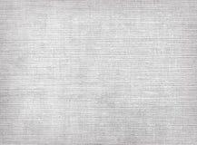 Textura cinzenta crua da lona de linho Fotografia de Stock Royalty Free