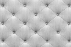 Textura cinzenta de pano do sofá da cor Imagem de Stock