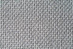 Textura cinzenta do gobelin Imagens de Stock Royalty Free
