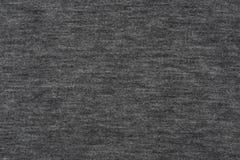 Textura cinzenta natural do algodão para o fundo Imagens de Stock Royalty Free