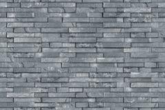 Textura cinzenta sem emenda da parede da ardósia fotografia de stock royalty free