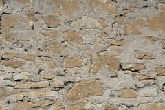 Textura cinzenta velha da cor da parede de pedra do fundo Imagem de Stock