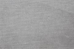 Textura cinzenta velha da tela imagens de stock