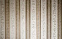 Textura clásica del papel pintado Foto de archivo libre de regalías