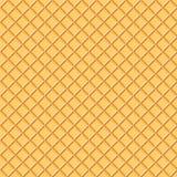 Textura clara do waffle Fotografia de Stock Royalty Free