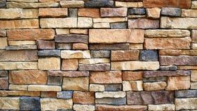 Textura clasificada de la pared de ladrillo Imagen de archivo