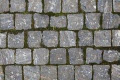 Textura Cobbled do pavimento Imagem de Stock Royalty Free