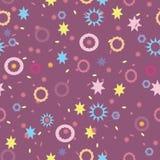 Textura coloreada brillante con las estrellas Foto de archivo libre de regalías