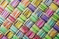 textura coloreada de los cuadrados Fotografía de archivo libre de regalías