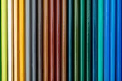 Textura coloreada de los lápices foreground Colores del otoño y del invierno Comienzo de la escuela, de clases Papel pintado herm fotos de archivo libres de regalías