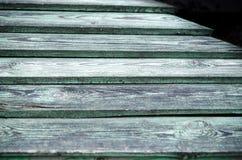 Textura coloreada de madera Fotografía de archivo libre de regalías