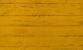 Textura coloreada mostaza de madera del fondo Fotografía de archivo libre de regalías