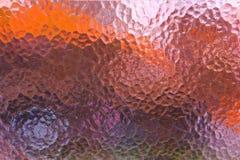 Textura colorida abstrata de vidro geado da janela fotografia de stock royalty free
