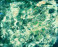Textura colorida Art Background de la acuarela abstracta Foto de archivo