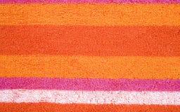 Textura colorida da tela Fotos de Stock Royalty Free