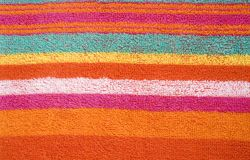 Textura colorida da tela Imagem de Stock Royalty Free