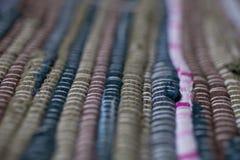 textura colorida de la alfombra Fondo de la alfombra andaluz Jarapa Foto de archivo libre de regalías