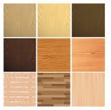 Textura colorida de la madera Foto de archivo libre de regalías