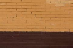 Textura colorida de la pared de ladrillo del grunge Fotografía de archivo libre de regalías