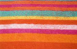 Textura colorida de la tela Imagen de archivo libre de regalías