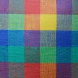 Textura colorida de la tela Fotografía de archivo libre de regalías