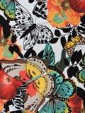 Textura colorida de la tela Fotos de archivo