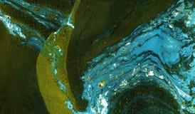 Textura colorida de mármore abstrata Art Background Imagem de Stock